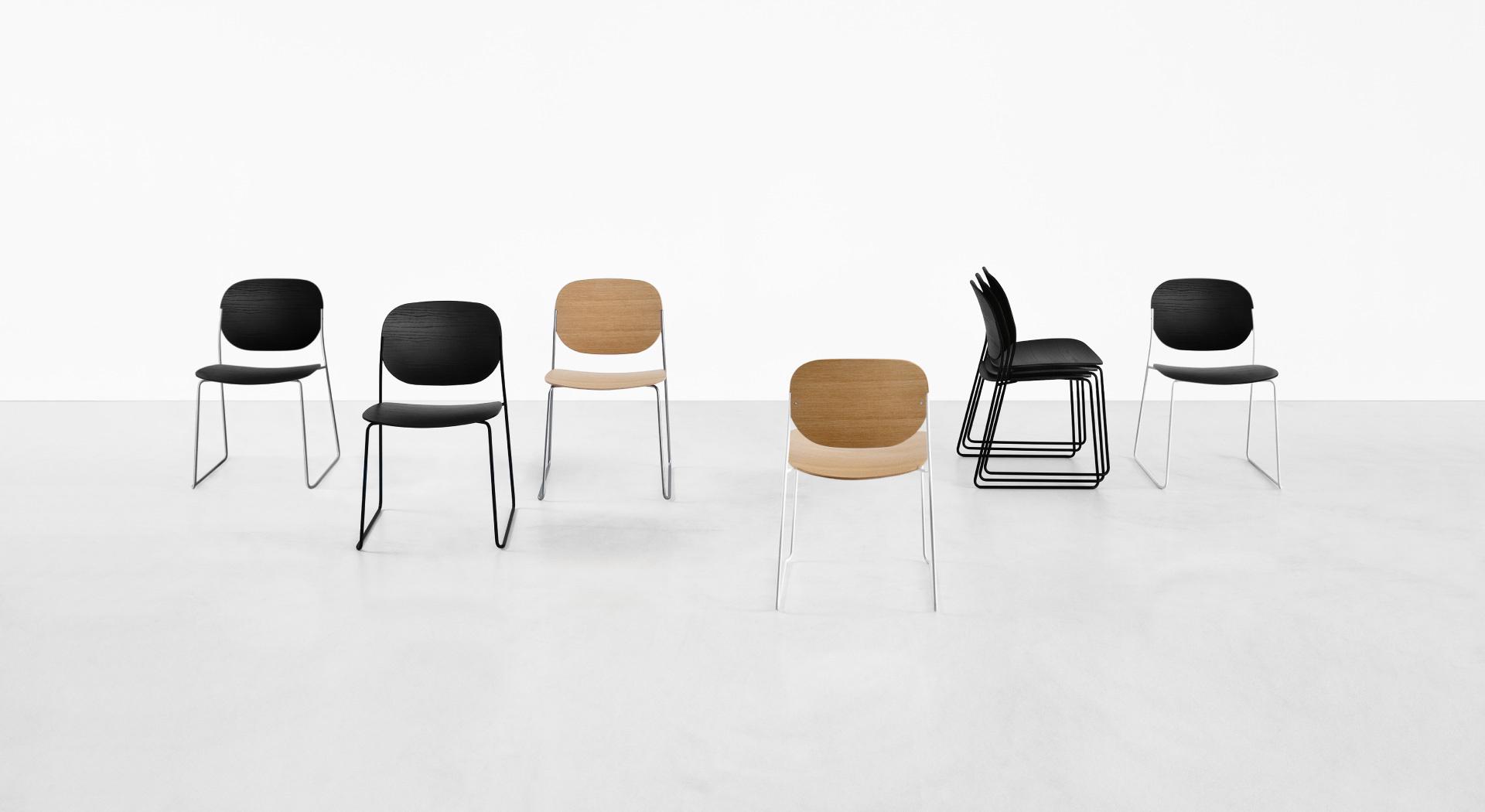 OLO: sedie di design morbido, leggere ed impilabili – Lapalma