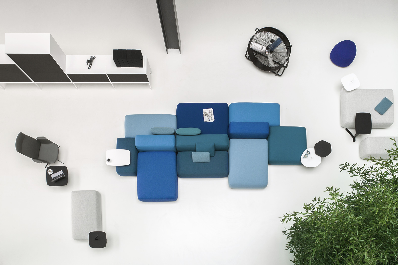 Plus Modular Designer Sofas And Elements Lapalma