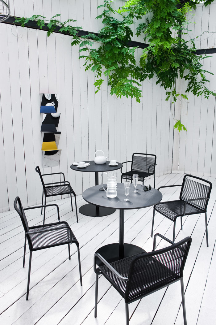 Aria Outdoor Chairs With Metal Frame Lapalma