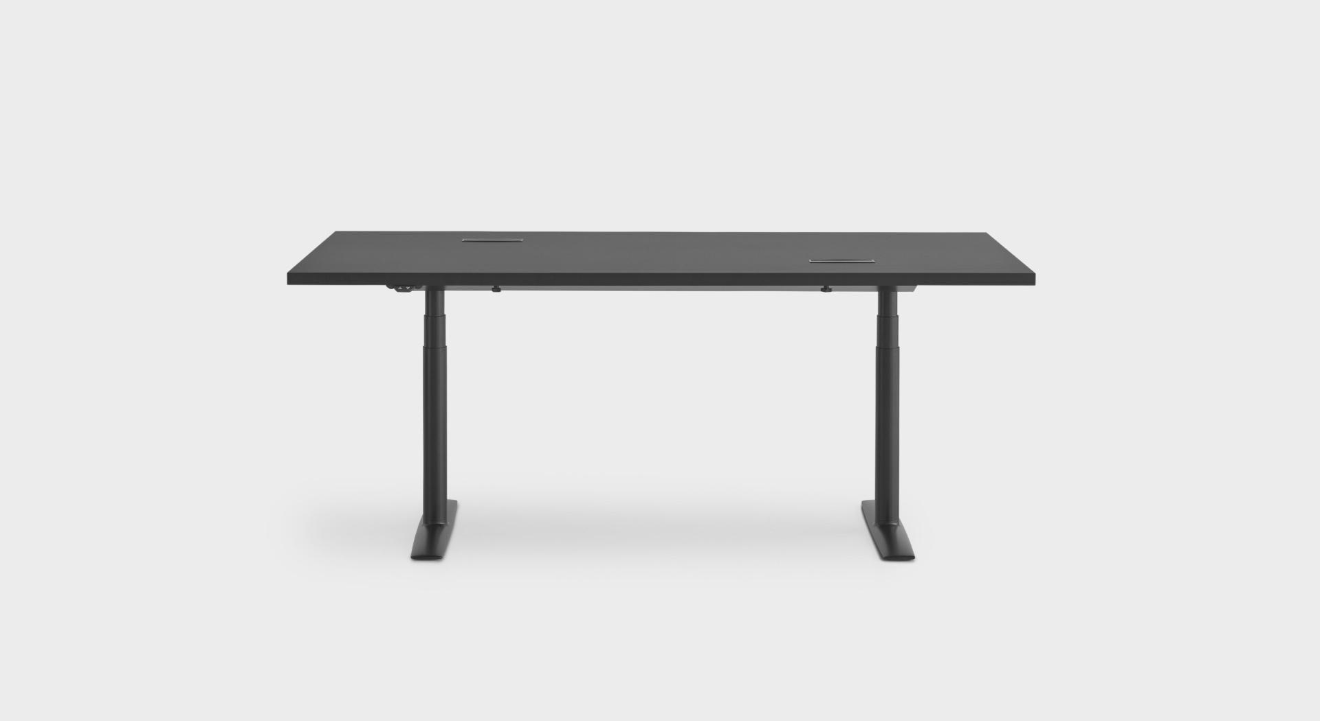 Acca Mobile Table De Bureau Reglable En Hauteur Avec
